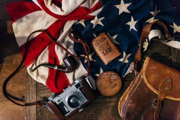 Vintage American items / symbols
