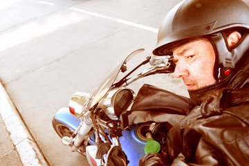 Motorbike - Taking a moment to refuel