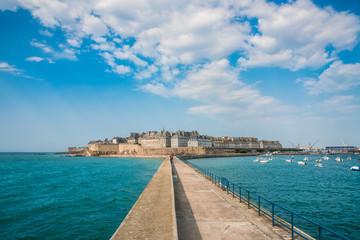 View of Saint Malo, Bretagne, France