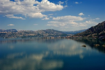 Egirdir and egirdir lake view. Isparta,Turkey