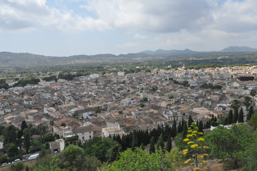 View of the city of Arta