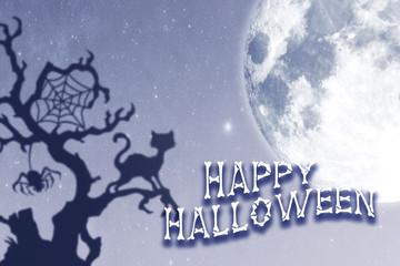 Happy Halloween. 3D - an illustration.