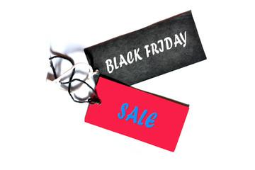 Black Friday sale massage level on white background