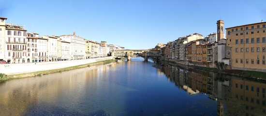 Ponte vecchio of Florence Italy