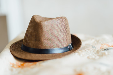 hat for the groom