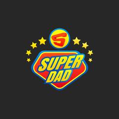 Super Dad emblem