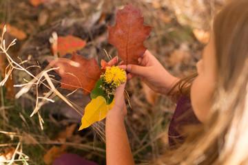 Fototapeta Jesienny bukiet obraz