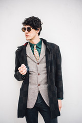 Stylish man with sunglasses