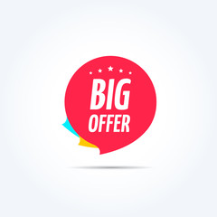 Big Offer Tag
