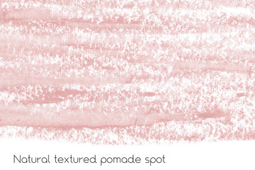 Natural pomade background with raw grunge texture for cosmetics.