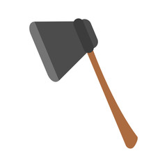 axe tool icon image vector illustration design