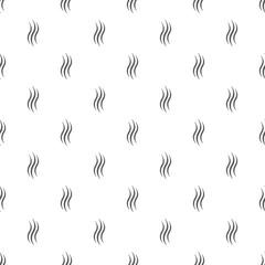 Smoke steam pattern seamless