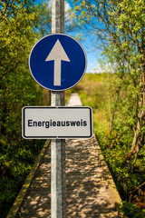 Schild 239 - Energieausweis