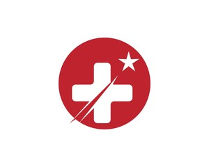 Star fast medicine logo design