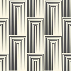 Seamless Square Wallpaper. Stripe Graphic Design. Abstract Greek Pattern