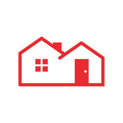 Simple Red Housing