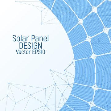 Solar panel. Renewable energy resources.