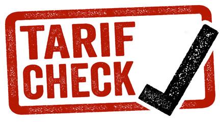 Stempel Label Tarifvergleich Tarifcheck Versicherungswechsel