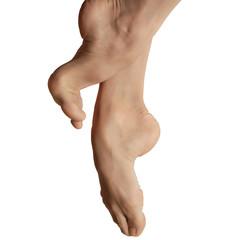 piedi di ballerina/piedi di una ballerina professionista