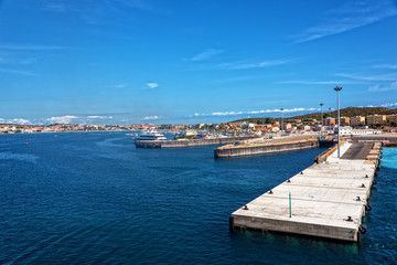 Golfo Aranci Hafen Sassari Sardinien