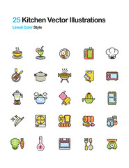 Kitchen Color Illustration
