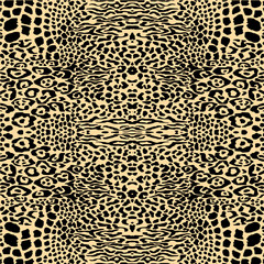 abstract pattern leopard animal skin texture