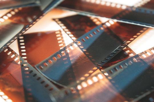Negatives of analog photography