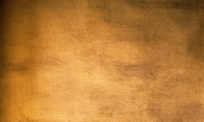 Gold background - Vintage Rough golden textured  wall for your design..