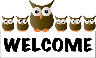 cool owls welcome header
