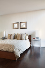 Bedroom in luxury home