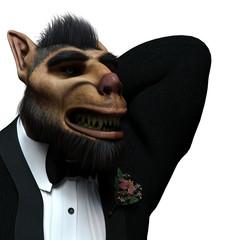 werewolf tuxedo