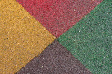textured ground surface