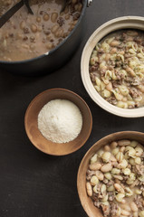 rustic bean soup