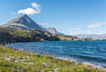 Fiordo de Berufjordur en Islandia