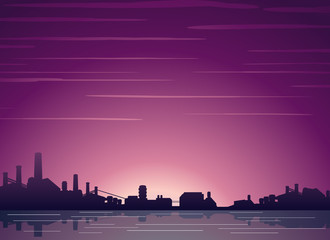 Industrial Cityscape