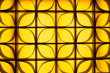Abstract wall decoration