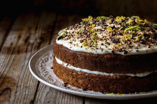 Food: Hummingbird cake