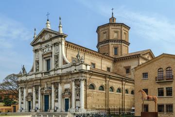 Foto auf Acrylglas Denkmal Santa Maria in Porto, Ravenna, Italy