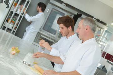 trainee chefs