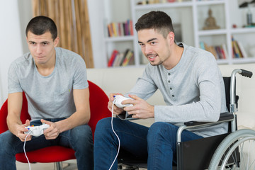 friends and video games