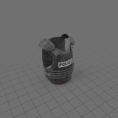 Bulletproof riot gear vest 1