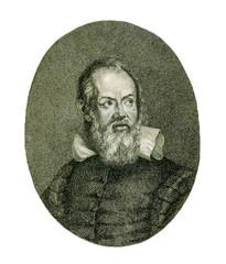Portrait of Galileo Galilei