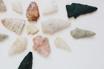Native American arrowheads