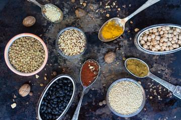 Creative arrangement of condiments