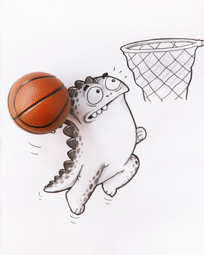 Love playing Basketball