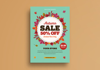 Autumn Sale Flyer 1