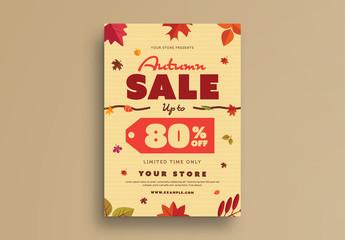 Autumn Sale Flyer 2