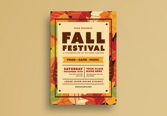 Fall Festival Flyer 2