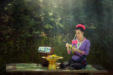Laos the culture Beautiful Laos women