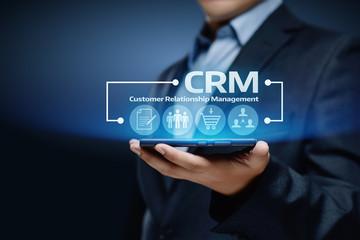 gérer votre relation client CRM Customer Relationship Management Business Internet Techology Concept
